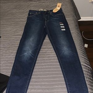 Levi's skinny jeans  super high rise